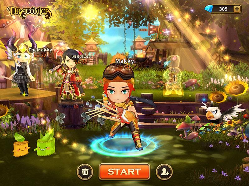 LINE Dragonica รีวิวสายอาชีพ Assassin แนวทางการเล่น+อัพสกิล